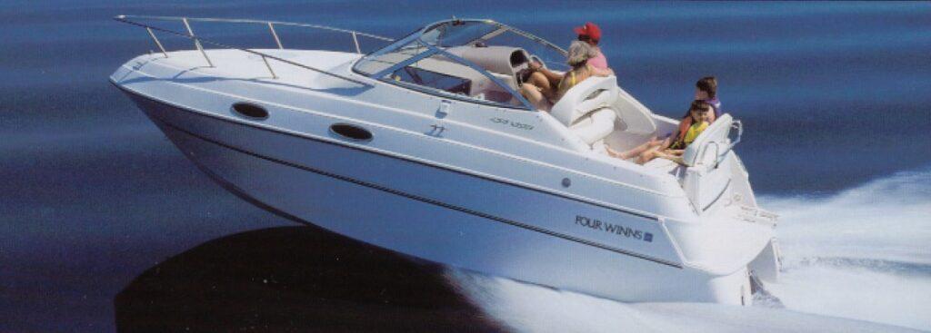 wynajem łodzi motorowej
